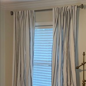Crate & Barrel Kendal Curtain Panels 2 sets